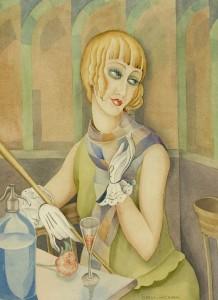 One of Gerda's paintings of Lili