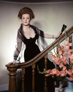 """Bette Davis in """"The Little Foxes,"""" gown designed by Orry Kelly."""