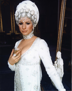 """A Cecil Beaton design for Barbra Streisand from """"On a Clear Day You Can See Forever."""""""